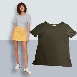 XS Army Green Wilfred Free Divina T-Shirt